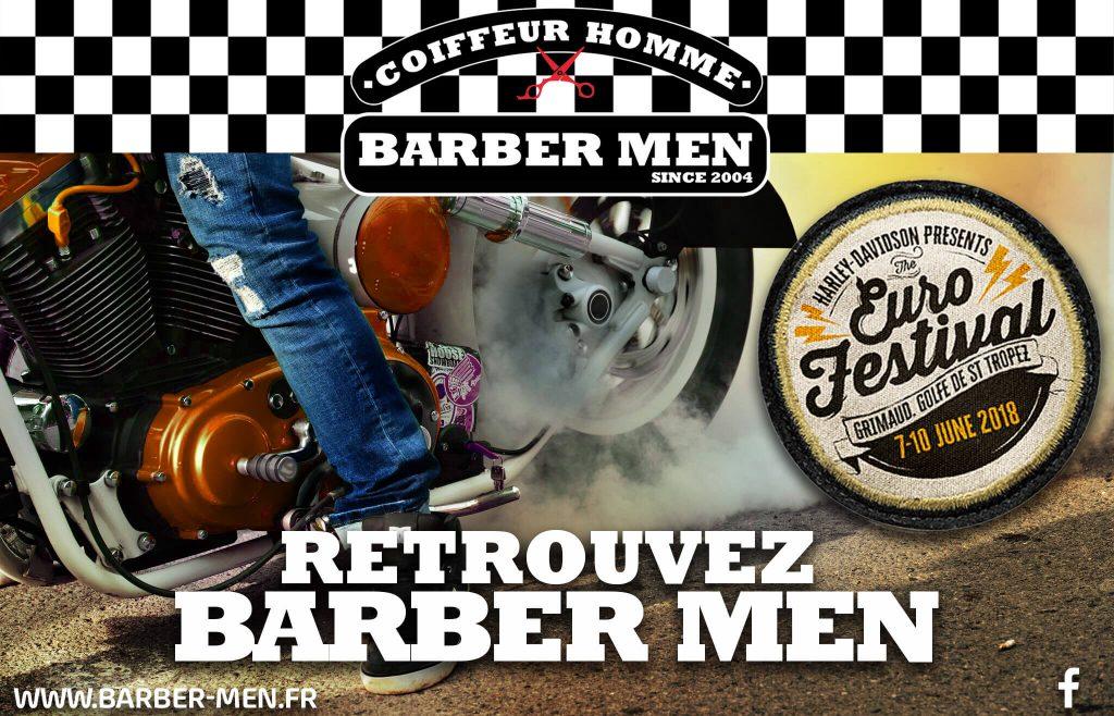 Euro Festival Barber men